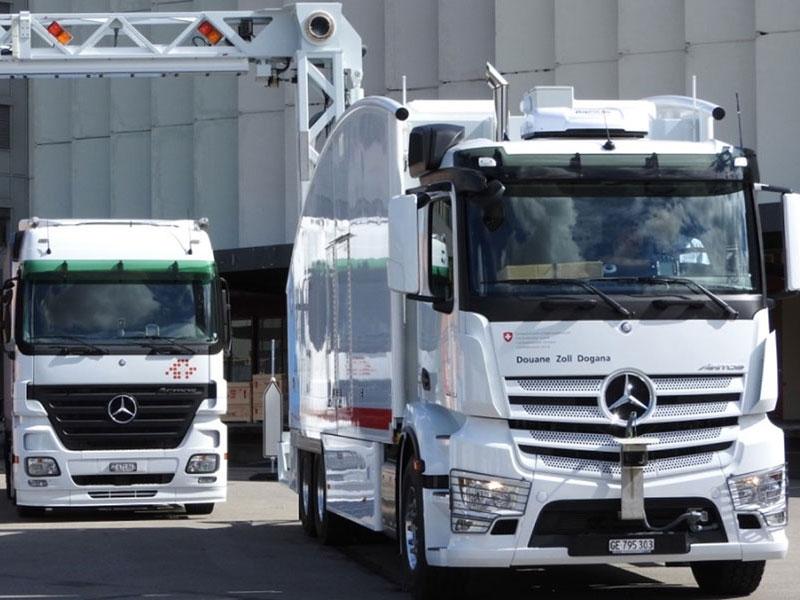 Cargo Amp Vehicle Inspection System Eagle 174 M60 Rapiscan
