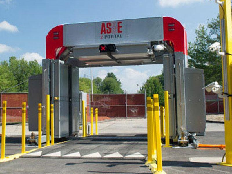 As Amp E 174 Z Portal 174 For Passenger Vehicles Rapiscan Systems